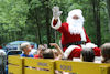 Hayride with Santa during our Christmas in July weekend
