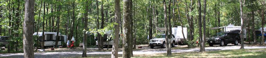Ringing Rocks Family Campground Bucks County Pennsylvania